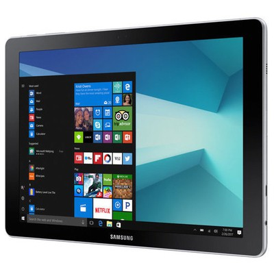 "Samsung W627-SIYAH Galaxy Book Intel Core M3 2.6GHz 4GB/64GB 10.6"" FHD 4G Windows10 Siyah Tablet"