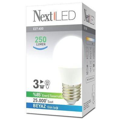 Next YE-E27AL-3WB 3W E27 BEYAZ LED AMPUL Akıllı Aydınlatma