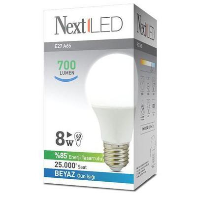 Next YE-E27AL-8WB 8WATT E27 BEYAZ LED AMPUL Akıllı Aydınlatma