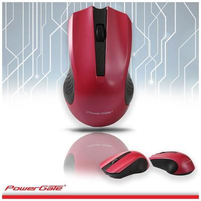 PowerGate PG-R530K Kablosuz Nano Mouse - Kırmızı