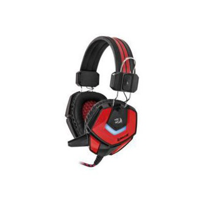Redragon 64204 Gaming Kulaklık RIDLEY Kırmızı-Siyah 2.2m - 64204