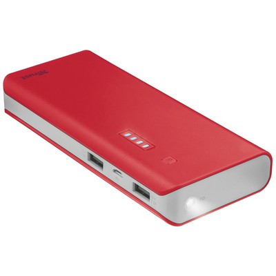 Trust  TRU22073 UR Primo 10000 MAH PowerBank Kırmızı