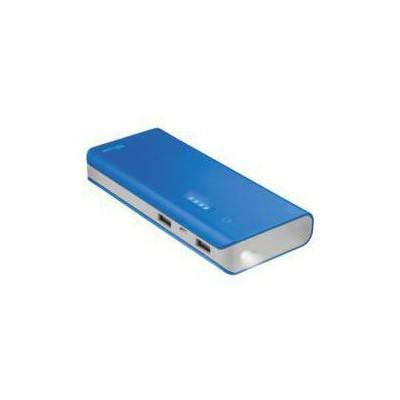 Trust TRU22264 UR 10000 MAH POWERBANK MAVI SLIM Taşınabilir Şarj Cihazı