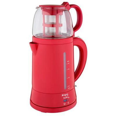 King K-8500 TeaMax Kırmızı Otomatik Çay Makinesi