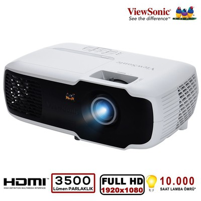 Viewsonic PX702HD DLP FHD 1920X1080 3500AL HDMI 3D 22000:1 PROJEKSIYON Projektör