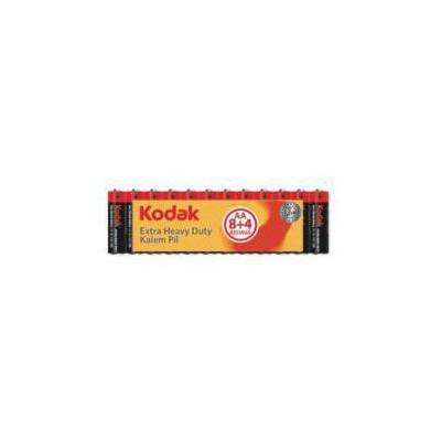 Kodak 30413146 Shrink Çinko Karbon AA (8+4)Kalem Pil Pil / Şarj Cihazı