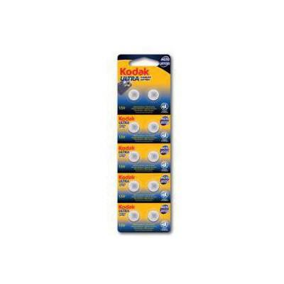Kodak 30414013-KAG10-LR1 10 Ultra Alkalin DüğmePil 10'lu Pil / Şarj Cihazı