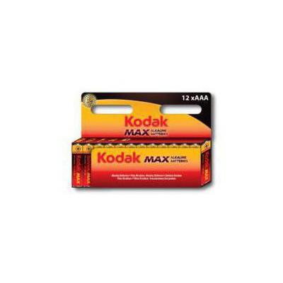 Kodak 30952805-K3A-12 12 li Paket AAA Max Alkalin İnce 0