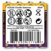 K3A-4-30411784 4 Aadet AAA Xtralife Alkalin İnce 0