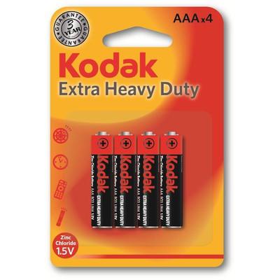 Kodak  K3AHZ-4-30953321 4 Adet Çinko Karbon AAA İnce 0