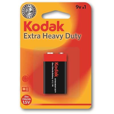 Kodak K9VHZ-1-30953437 1 adet Blister Ambalaj Çinko Karbon 9V 0