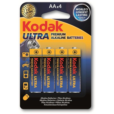 Kodak KAA-4-30959514 4 Adet AA Ultra Premıum Alkalin Kalem 0