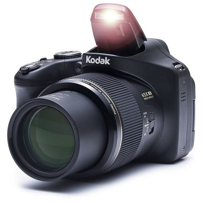"Kodak AZ652-BK 20 MP Camera 65x Optik 3""LCD 1080p Siyah Kamera"