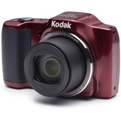 Kodak FZ201-RD 16MP 20xOptik Zoom Fotoğraf Makinesi Kırmızı