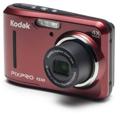 Kodak FZ43-RED 16MP 4x Optik Zoom  Kırmızı Fotoğraf Makinesi
