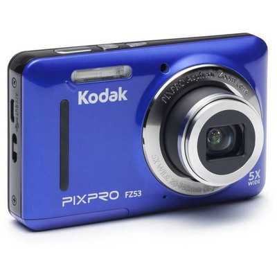 Kodak FZ53-BL 16MP 5x Optik Zoom  Mavi Fotoğraf Makinesi