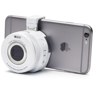 Kodak SL5-WH 16MP Akıllı Lens 5xOptik Zoom Wİ-Fİ Fotoğraf Makinası Beyaz Fotoğraf Makinesi