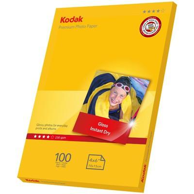 Kodak CAT5740-812 230 gr-m2 10x15 100'lü İnkjet Fot.Kağıdı