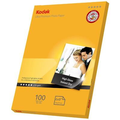 Kodak CAT5740-163 270 gr/m2 15x21 100'lü İnkjet Fotoğraf Kağıdı Özel Kağıt