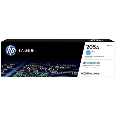 HP  205A LaserJet Toner (CF531A) - Mavi - 900 sayfa