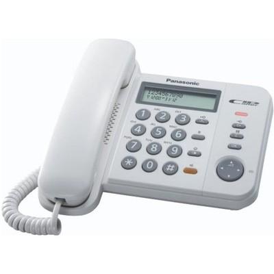 Panasonic  KX-TS580-BEYAZ KABLOLU TELEFON BEYAZ