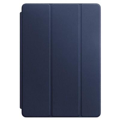 Apple 10.5 inç iPadPro için Deri Smart Cover - Gece Mavisi Tablet Kılıfı