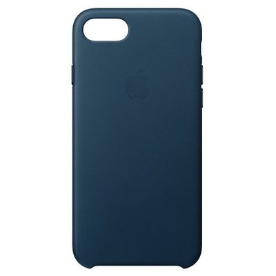 Apple iPhone8/7 için DeriKılıf-KozmosMavisi Cep Telefonu Kılıfı