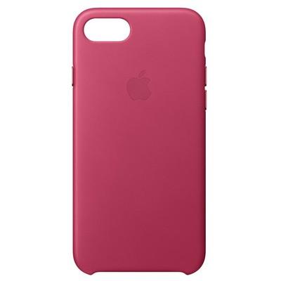 Apple iPhone8 /7 için DeriKılıf - Fuşya Cep Telefonu Kılıfı