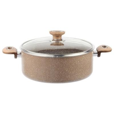 Berf Granit 30 cm(991314) Kahverengi Tencere