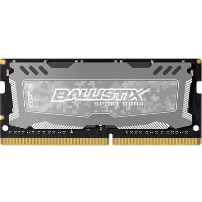 Crucial Ballistix Sport LT Grey 8GB CL16 DDR4 Bellek (BLS8G4S240FSD)