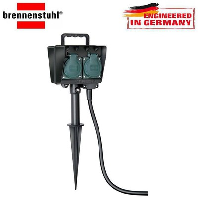 Brennenstuhl 1154450 SOCKET OUTLET WİTH EARTH ROD IP44 UZATMA PRİZ