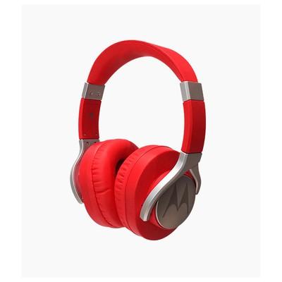 Motorola PULSE Max Kırmızı Kablolu Kulaküstü Kulaklık Kafa Bantlı Kulaklık