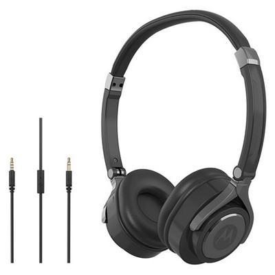Motorola PULSE 2 Siyah Kablolu Kulaküstü Kulaklık Kafa Bantlı Kulaklık