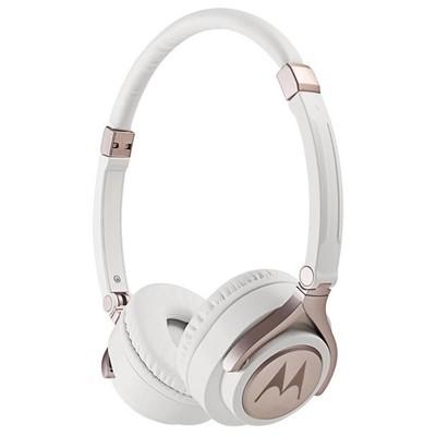 Motorola PULSE 2 Beyaz Kablolu Kulaküstü Kulaklık Kafa Bantlı Kulaklık