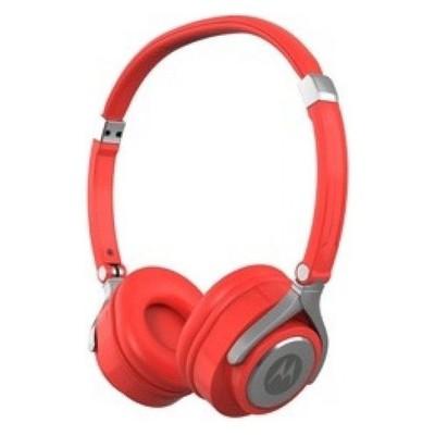 Motorola PULSE 2 Kırmızı Kablolu Kulaküstü Kulaklık