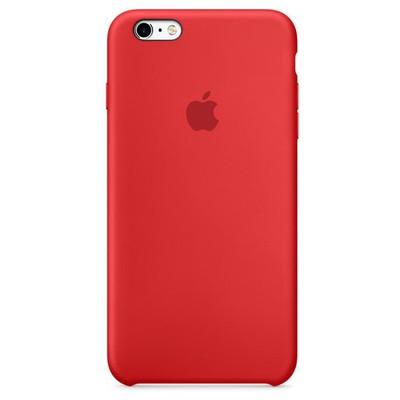 Apple iPhone 6S Plus Silikon Kılıf - Kırmızı