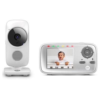 Motorola MBP 483 2.8 İnç Ekran LCD Dijital BebeK Kamerası Bebek Monitörü