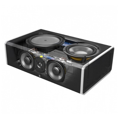 Definitive Technology CS9080 High-Performance Center Channel Speaker with Integrated 8'' Powered Subwoofer and Bass Radiator Merkez Hoparlör