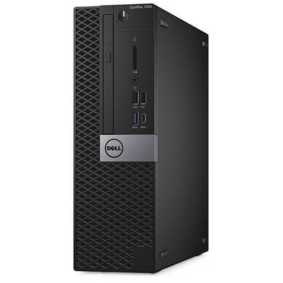 Dell N043O7050SFF02_UBU OptiPlex 7050 SFF Core i7-7700 8GB 256GB SSD Ubuntu Linux