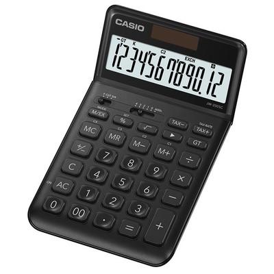 Casio JW-200SC-BK-N-DP(PH) 12 HANE MASAÜSTÜ RENKLİ HESAP MAKİNESİ