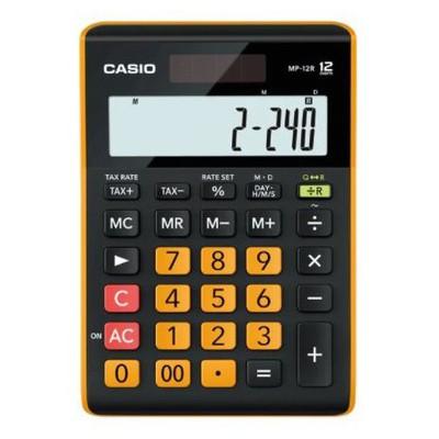 Casio MP-12R-W-DC(CN) 12 HANE MASAÜSTÜ HESAP MAKİNESİ Hesap Makinesi
