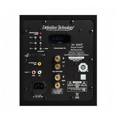 Definitive Technology SuperCube® 6000 High Performance Powered Subwoofer