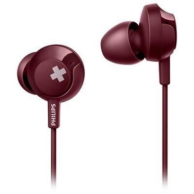 Philips SHE4305RD-00 Kırmızı Kulakiçi Mik.Kulaklık