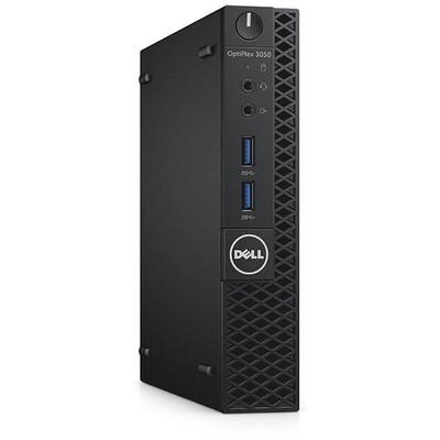 Dell N016O3050MFF_UBU OptiPlex 3050 MFF Core i3-7100T 4GB 128GB SSD WLAN + BT Kb Mouse
