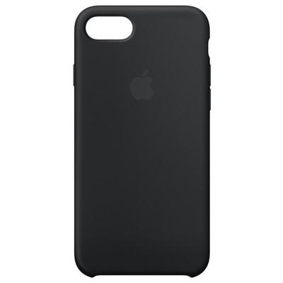 Apple iPhone 8/7 Silicone Case - Black Cep Telefonu Kılıfı