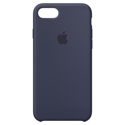 Apple iPhone 8-7 Silicone Case - Midnight Blue