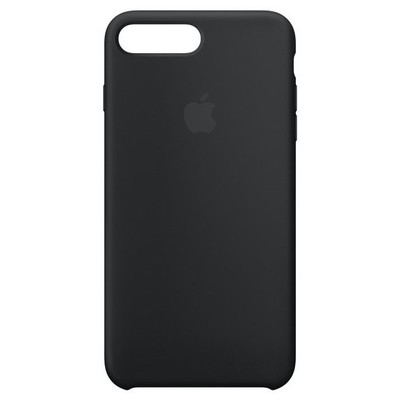 Apple iPhone 8/7 Plus Silicone Case - Black Cep Telefonu Kılıfı