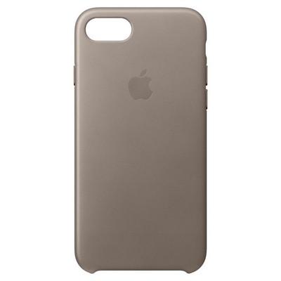 Apple iPhone8 -7 için DeriKılıf - Vizon Grisi