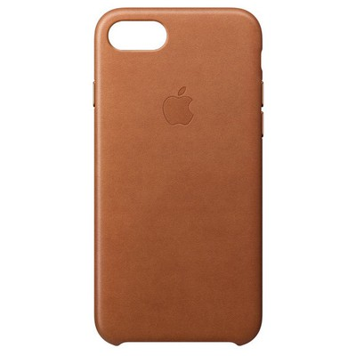 Apple iPhone 8-7 Leather Case - Kahve Rengi