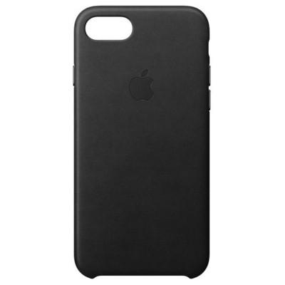 Apple iPhone 8-7 Leather Case - Black